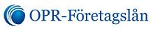 OPR Företagslån (logo).